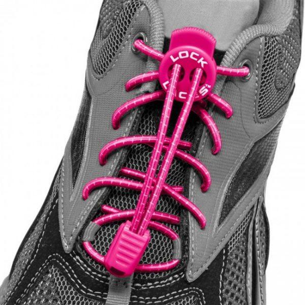 lock laces rose lacets triathlon