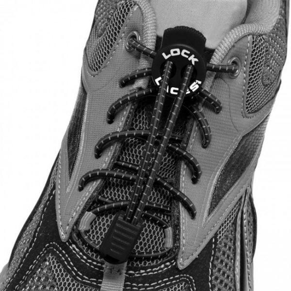 lock laces noir lacets triathlon
