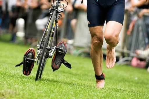 zone de transition triathlon