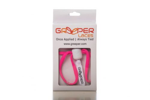 lacets de triathlon greeper laces rouge